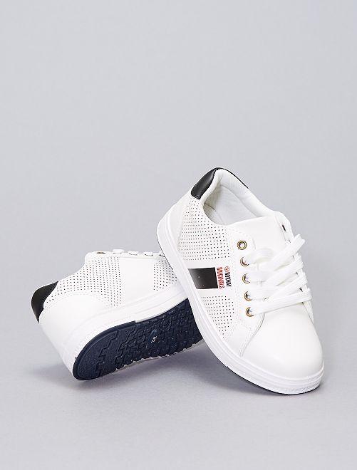 Sneakers basse                             bianco