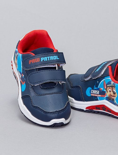 Sneakers basse con strappi 'Paw Patrol'                             BLU