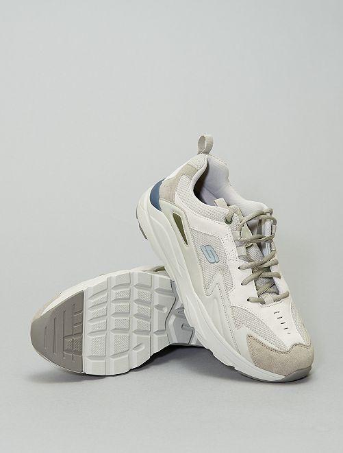 Sneakers basse con suole spesse 'Skechers'                             grigio