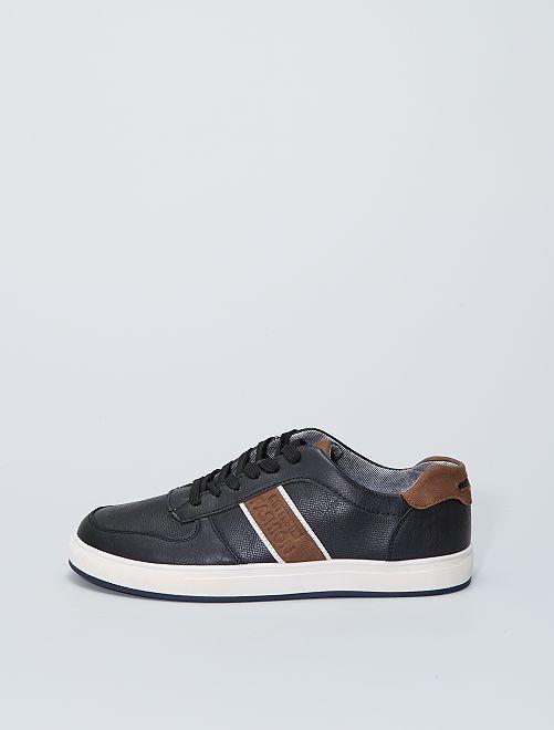 Sneakers basse da passeggio                             nero