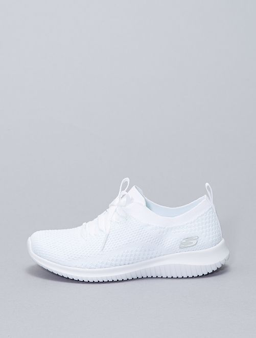 Sneakers basse forma pantofole                             bianco