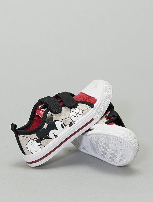 Sneakers basse in tela 'Topolino' di 'Disney'                             grigio