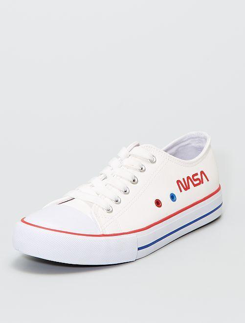 Sneakers basse 'NASA'                             BEIGE