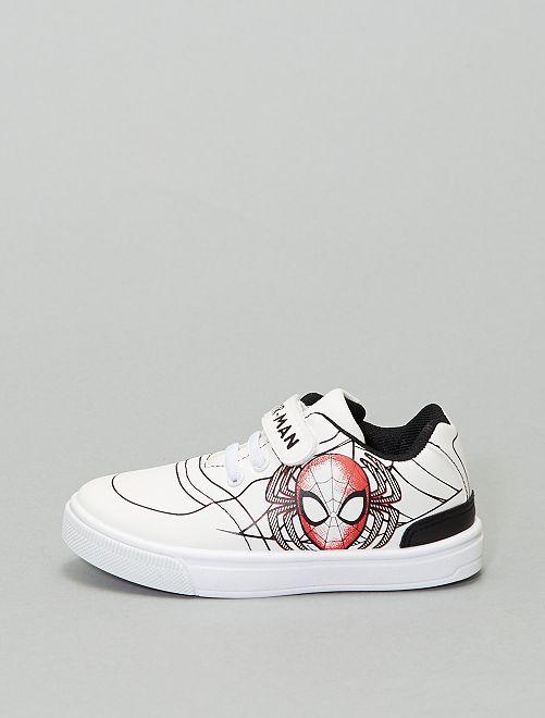 Sneakers basse 'Spiderman' 'Marvel'                             bianco