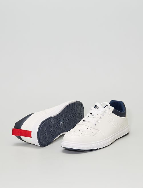 Sneakers bianche                             BIANCO