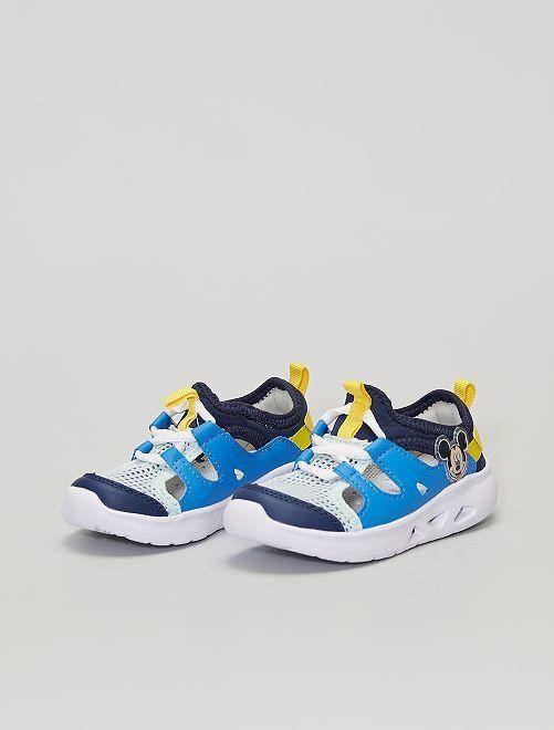 Sneakers con aperture 'Topolino'                             bianco
