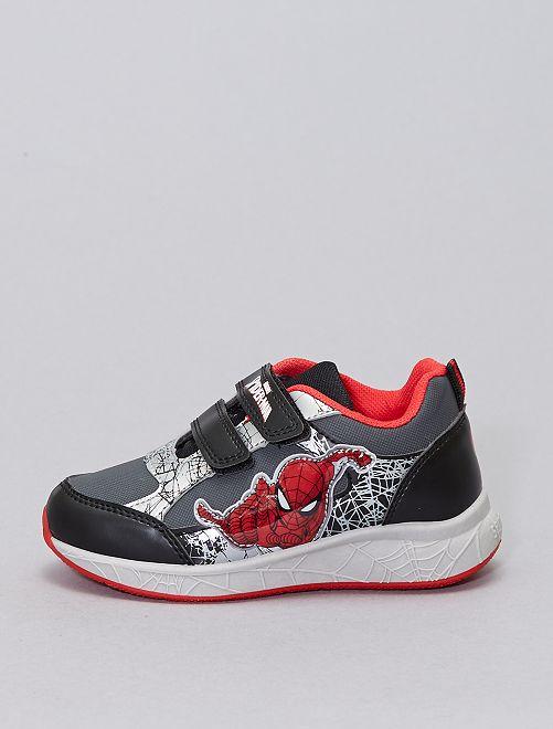 Sneakers con strappi 'Spider-Man'                             nero
