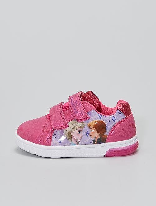 Sneakers 'Frozen' 'Disney' luminose                             fucsia