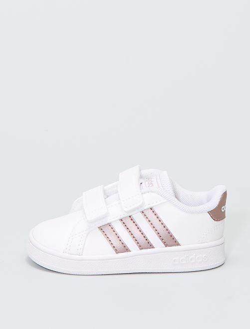 Sneakers in tela 'adidas grand court 1'                             BIANCO