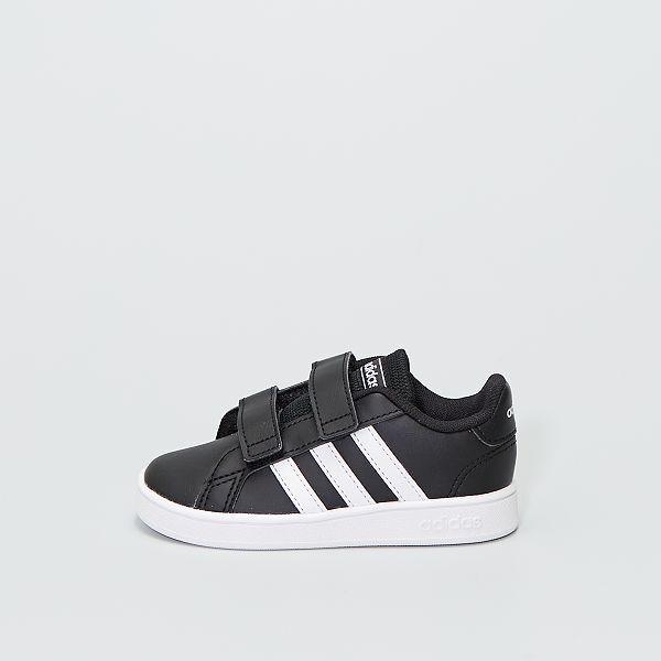 adidas grand court nero