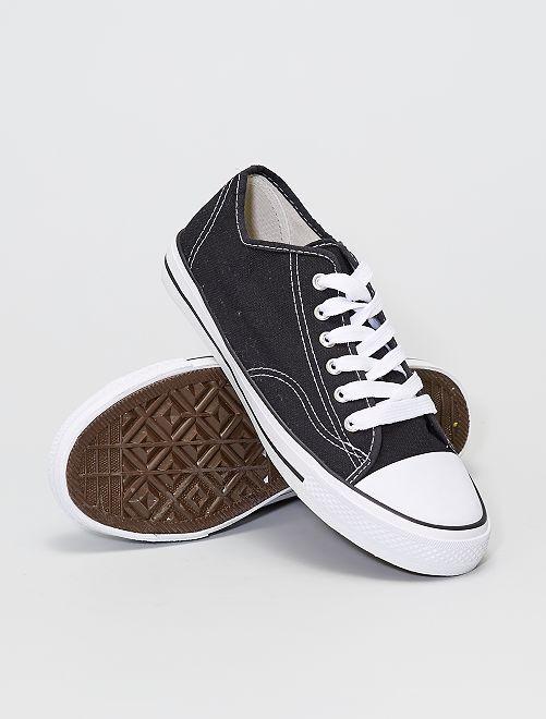 Sneakers in tela                             bianco