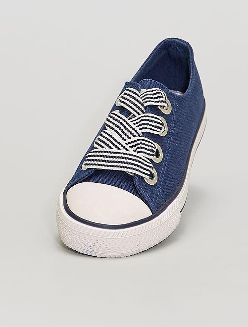 Sneakers in tela                                         BLU