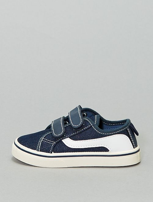 Sneakers in tela                                 blu navy
