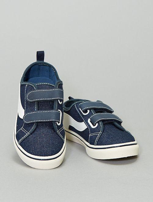 Sneakers in tela                                                     blu navy