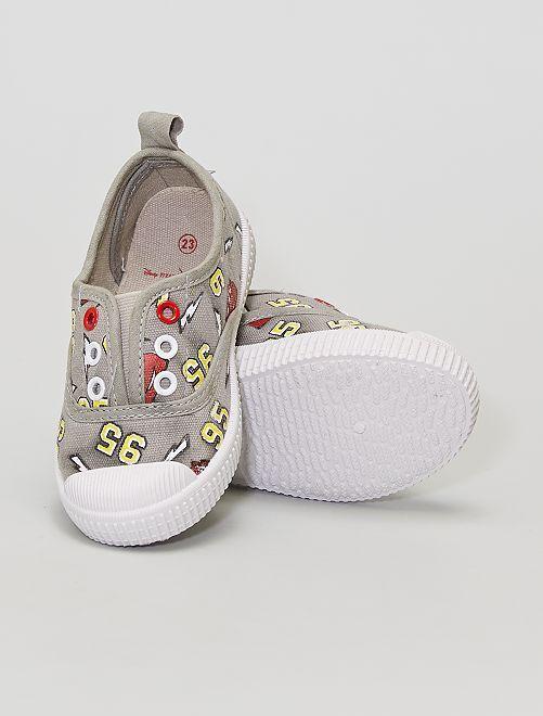 Sneakers in tela 'Cars'                             grigio