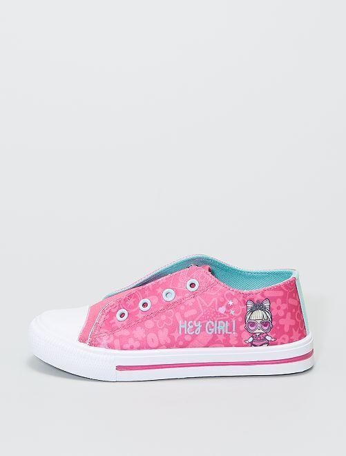 Sneakers in tela 'L.O.L. Surprise!'                             rosa