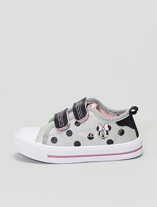 Sneakers in tela 'Minnie' 'Disney'                             grigio