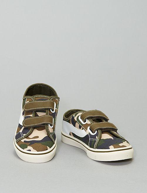 Sneakers in tela                                                     stampato