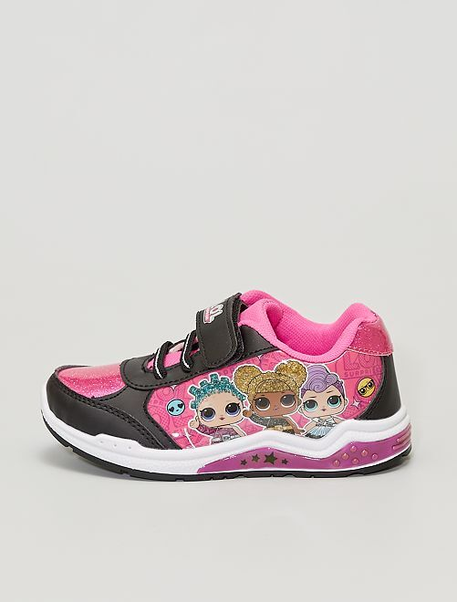 Sneakers 'LOL Surprise'                             nero/rosa