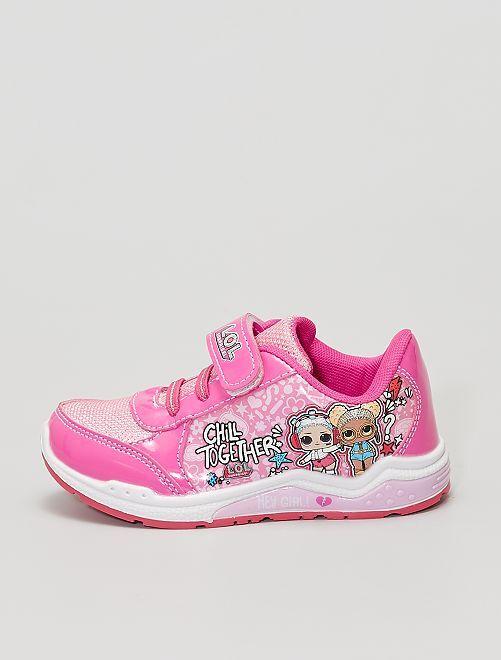 Sneakers 'LOL Surprise'                             rosa