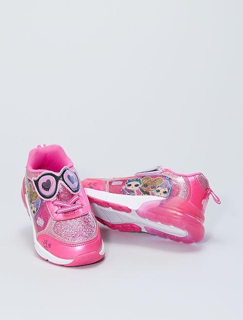 Sneakers luminose 'L.O.L. Surprise!'                             fucsia
