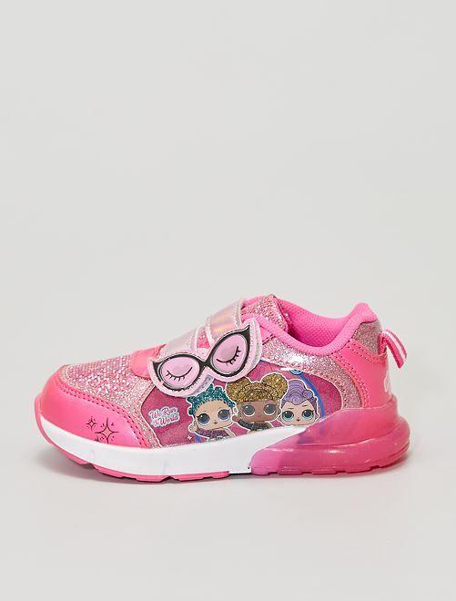 Sneakers luminose 'L.O.L. Surprise!'                             rosa