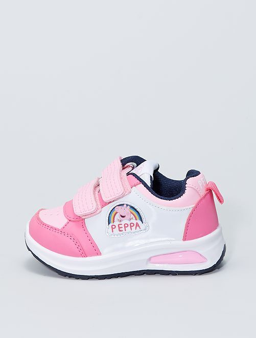Sneakers luminose ''Peppa Pig''                             ROSA