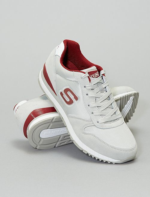 Sneakers 'Sechers' vintage                             bianco