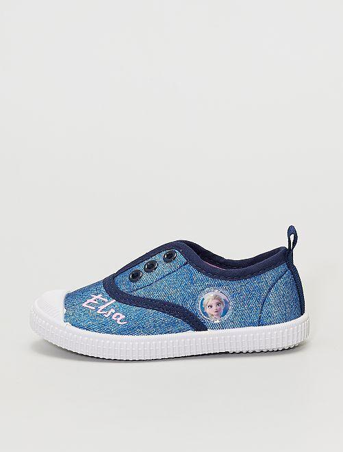 Sneakers senza lacci 'Frozen' di 'Disney'                             BLU