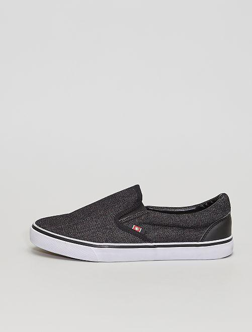 Sneakers slip-on                             grigio