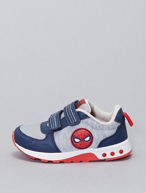 Sneakers 'Spider-Man' 'Marvel' con suole luminose                             grigio