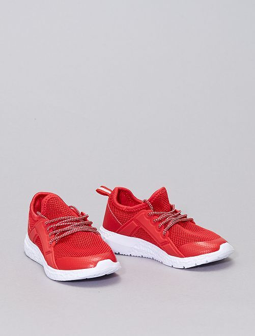 Sneakers tipo running                                         rosso