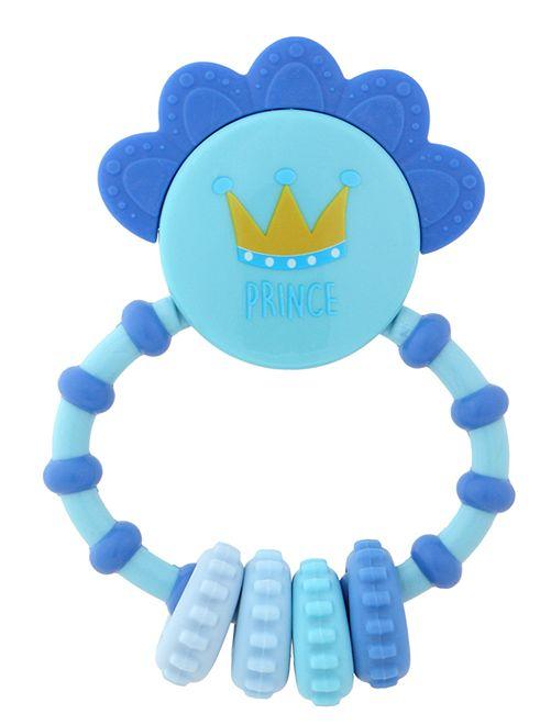 Sonaglino con anello di dentizione                              blu Neonato
