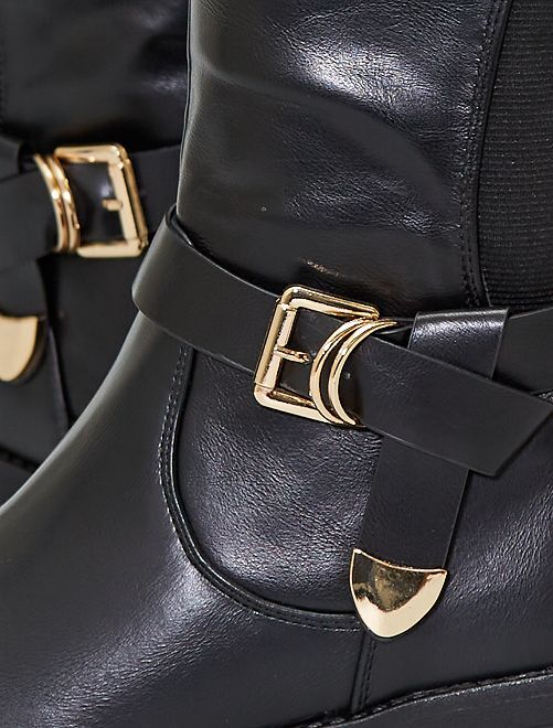 Stivali alla cavallerizza                     nero