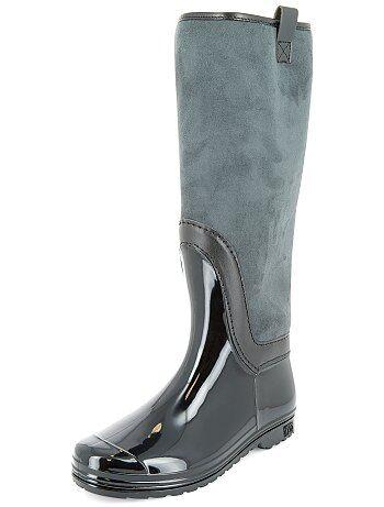 Stivali da pioggia foderati di pelliccia - Kiabi