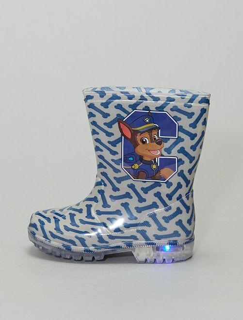 Stivali da pioggia luminescenti 'Paw Patrol'                             blu