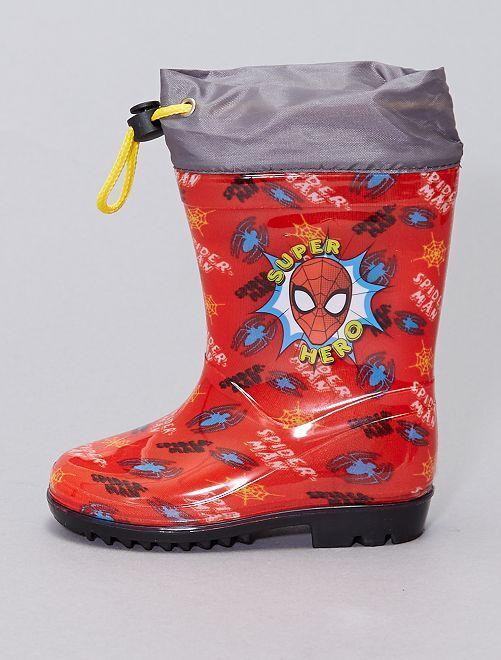 Stivali da pioggia 'Spider-Man' 'Marvel'                             rosso
