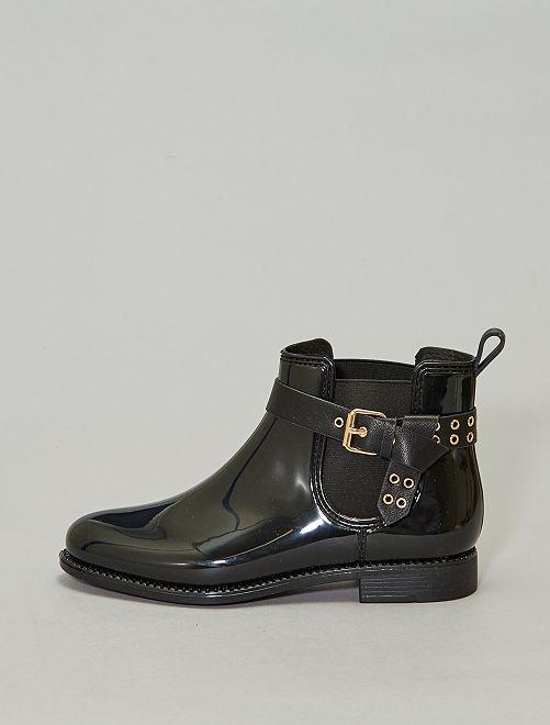 Stivali da pioggia stile Chelsea                             nero