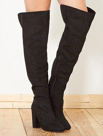 Stivali sopra il ginocchio tacco alto - Kiabi