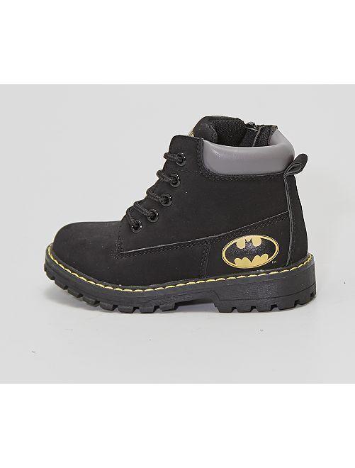 Stivali stile montagna 'Batman'                             nero