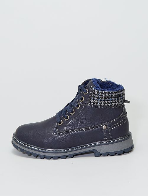 Stivali stile montagna                             blu navy