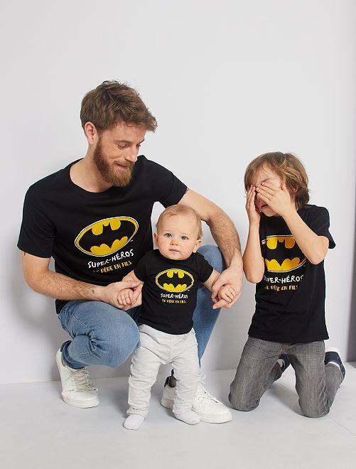 T-shirt 'Batman'                             nero