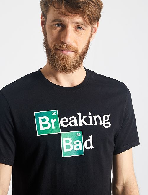 T-shirt 'Breaking Bad'                             nero