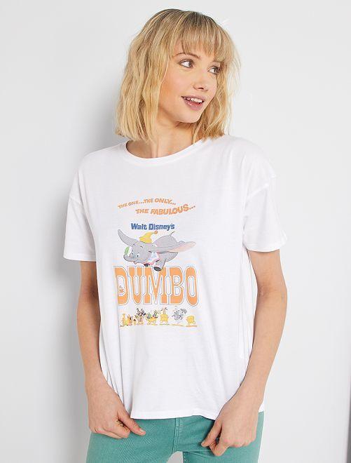 T-shirt con stampa 'Dumbo'                                                                 ARANCIONE