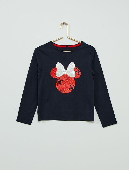 T-shirt di Natale 'Minnie'                     BLU