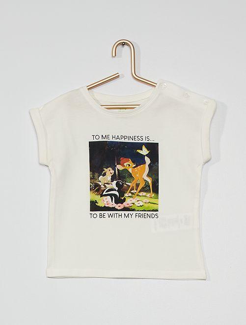 T-shirt 'Disney' eco-sostenibile                                         BIANCO