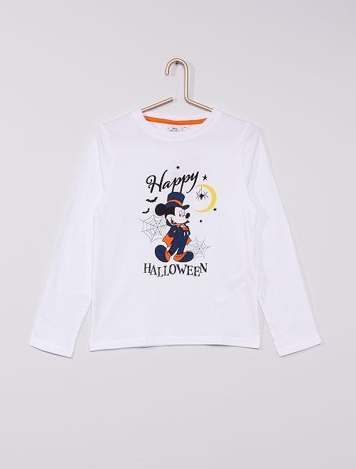 T-shirt 'Disney' Halloween                                         BIANCO
