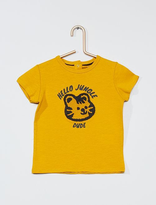 T-shirt 'eco-friendly'                                                     GIALLO