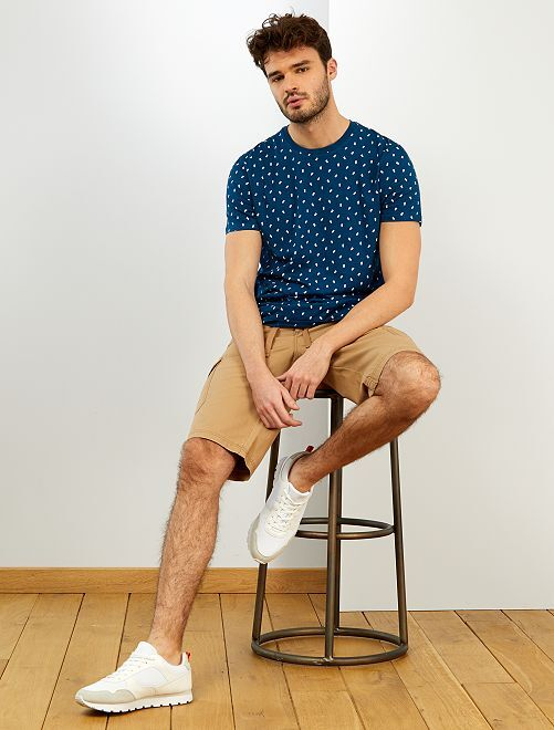 T-shirt eco-sostenibile + 190 cm                                                                 BLU