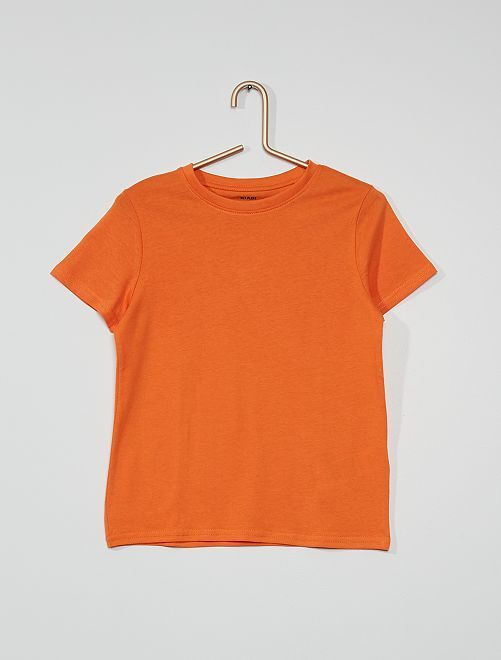T-shirt eco-sostenibile                                                                                         arancio